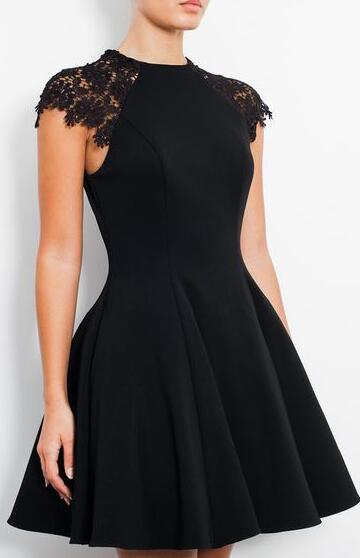 Short Homecoming Dresses,Cheap Homecoming Dress,Cute Prom Dress,Lace Homecoming Dresses,Black Homecoming Dress,Short Homecoming Dress,Sweet 16 Dress,Little Black Dresses