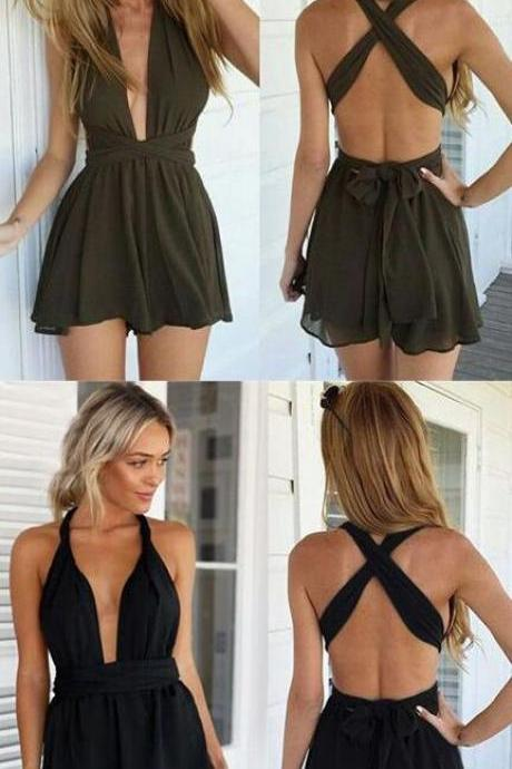 sexy homecoming dress,V Neck homecoming dresses,Cheap homecoming dress,short homecoming dress,Chiffon Homecoming Dress