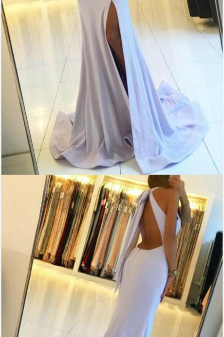 Charming Simple Prom Dress,Cheap Prom Dress,Long Mermaid Prom Dress,Sexy Prom Dress, Split Slit Prom Dresses, Simple Long Evening Party Dres