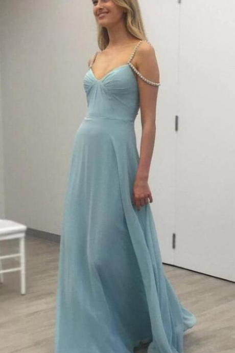 Long Prom Dress, Sexy Evening Dresses, Simple Chiffon Prom Dresses, Formal Dresses, Graduation Party Dresses, Banquet Gown