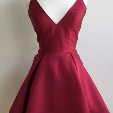 Pretty Homecoming Dress,V neck Homecoming Dress,cute homecoming dresses,short homecoming dress for teens new fashion sweet 16 gowns
